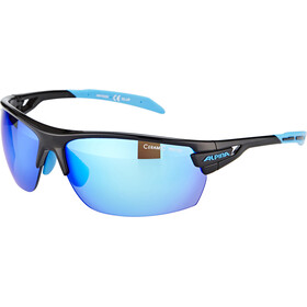 Alpina Tri-Scray Brille black-cyan